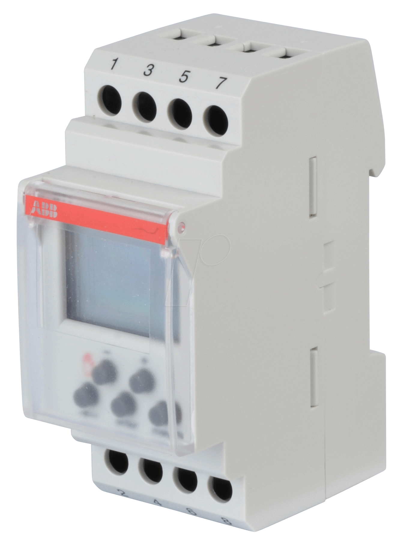 Abb Dt1 Digital Timer 1 Changeover Contact 16 A Channel At Circuit Breaker With