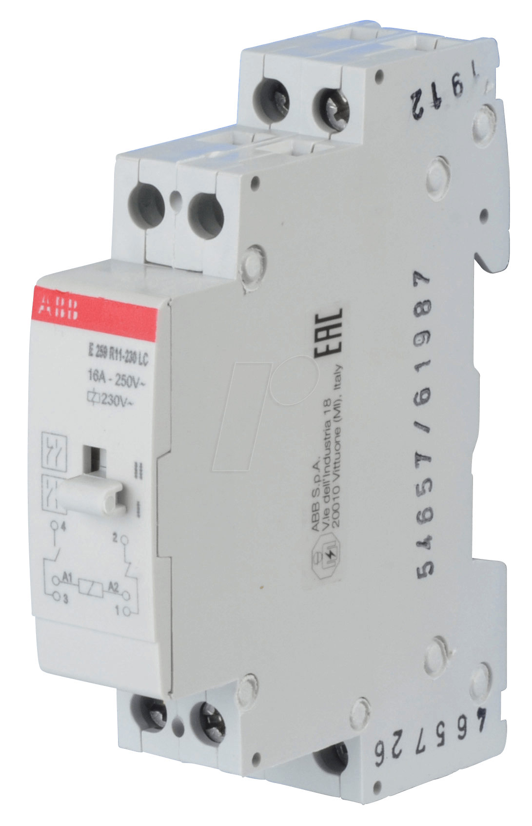 Abb E259r11 Lc Installation Relay 1 No Contact Nc Circuit Breaker With 230 V
