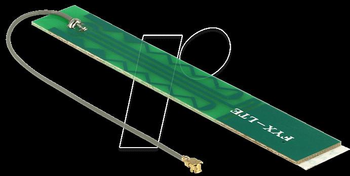 DELOCK 88988 - Antenne, 4G, SMA-Stecker, Klebemontage, 3 m