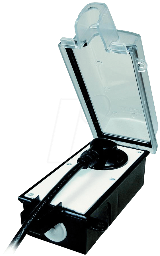 el ib 901500201 abschlie bare au ensteckdose ip44 gewinkelt bei reichelt elektronik. Black Bedroom Furniture Sets. Home Design Ideas