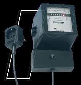EL WSZ 250V-KAB - Wechselstrom-Zwischenzähler 250V mit Kabel