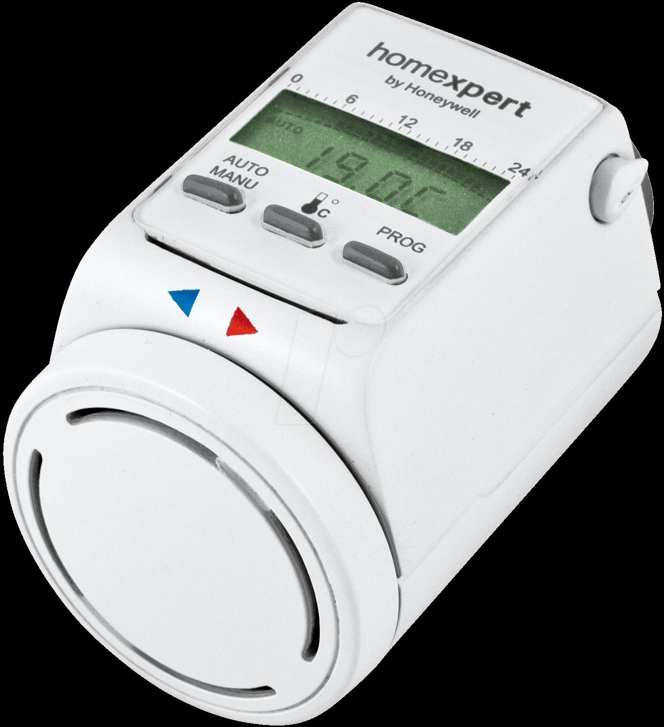 : Homexpert electronic radiator thermostat at reichelt elektronik #0A72B6