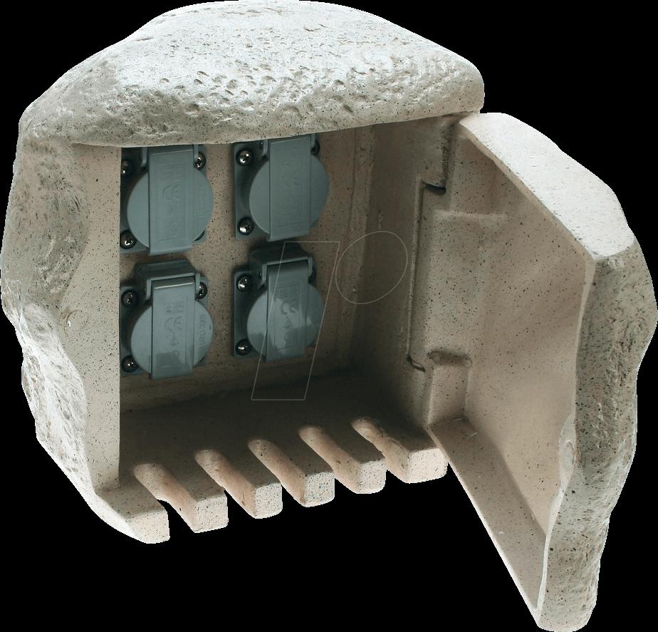 HEIT 36318 - Energieverteiler, 4-fach