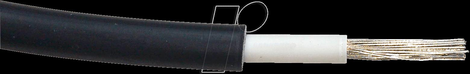SOLAR 1X6 50 - Solarkabel, 6 mm, 50 m, schwarz