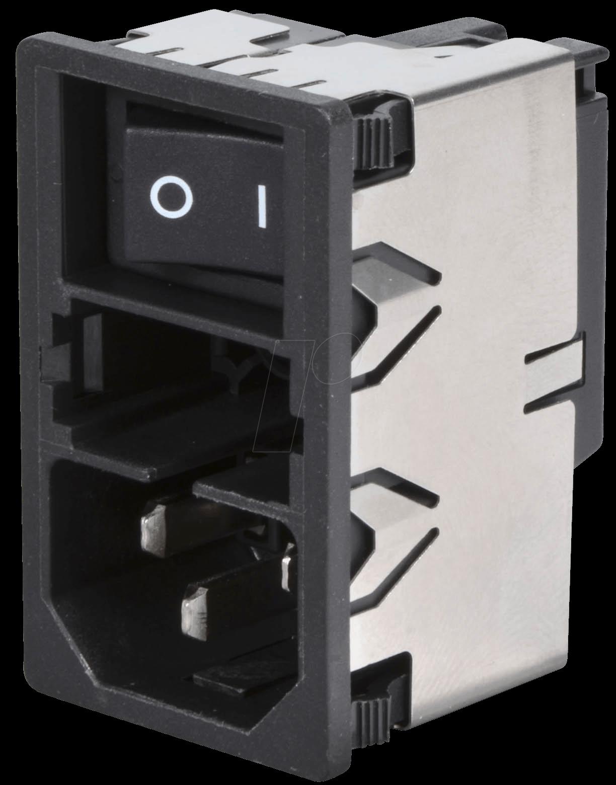km kombi stecker sicherung netzschalter 2 polig bei reichelt elektronik. Black Bedroom Furniture Sets. Home Design Ideas