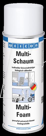 WEICON 11200400 - Universalreiniger, Multi-Schaum, 400 ml