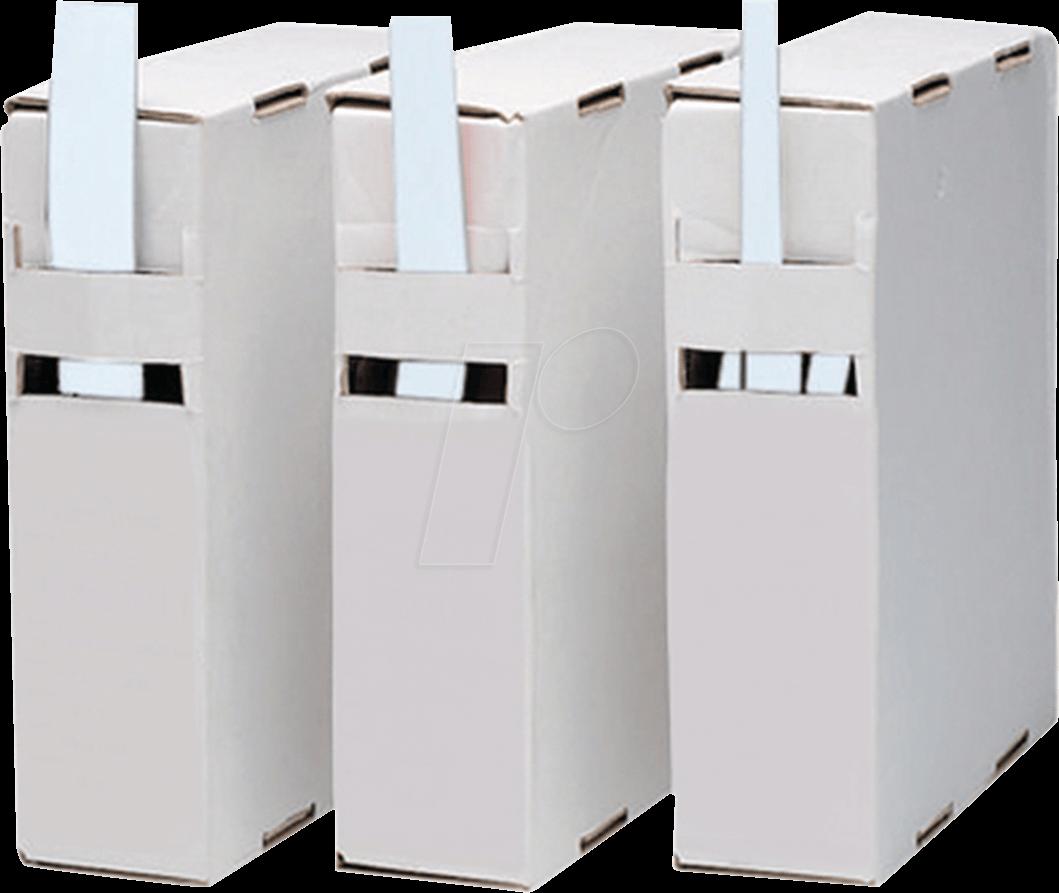 RND 465-00249 - Schrumpfschlauch-Box, 2:1, 2,5 - 1 mm, transparent, 15 m