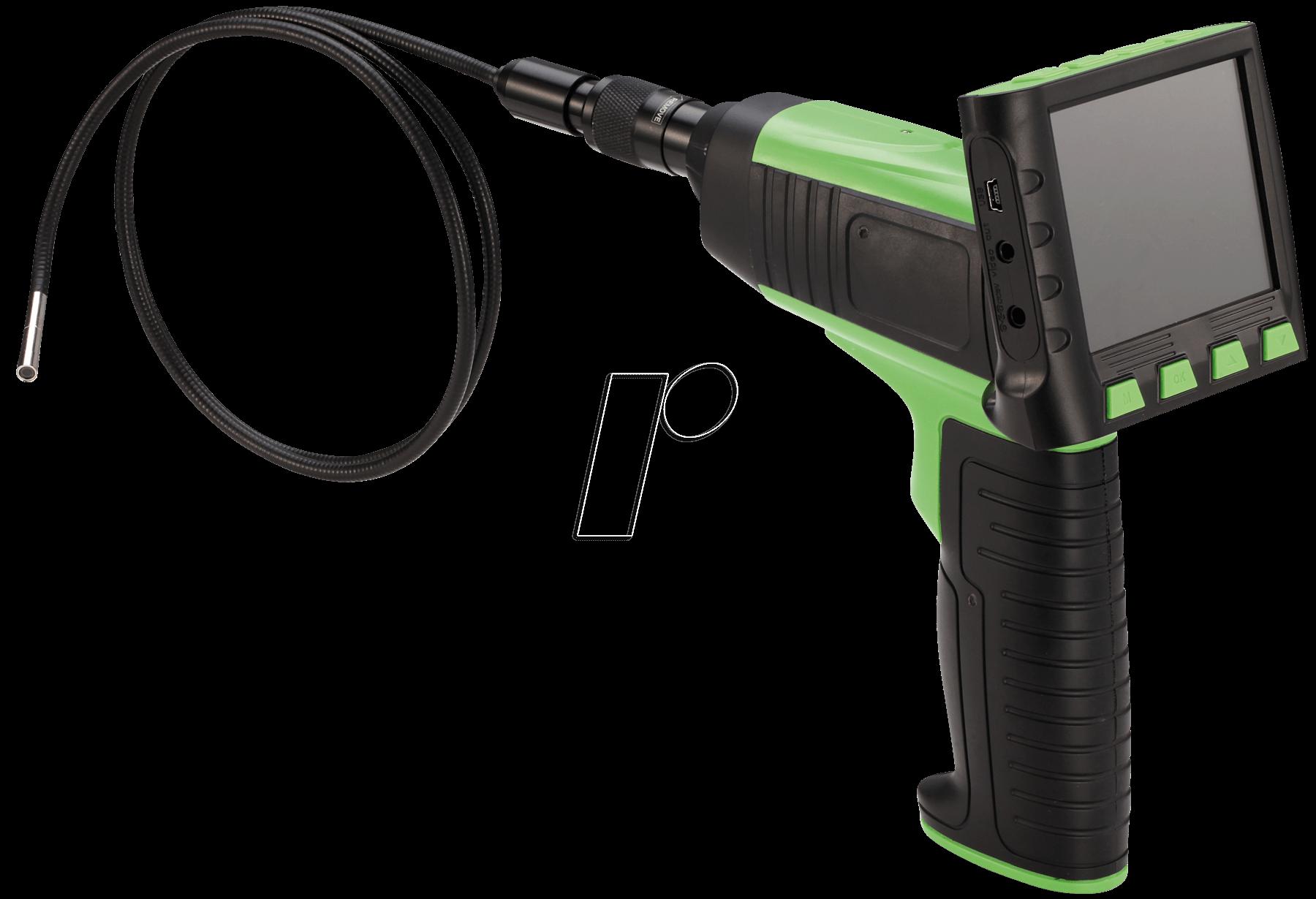 endo s05 5 5 endoskop kamera mit funk monitor 5 5 mm bei. Black Bedroom Furniture Sets. Home Design Ideas