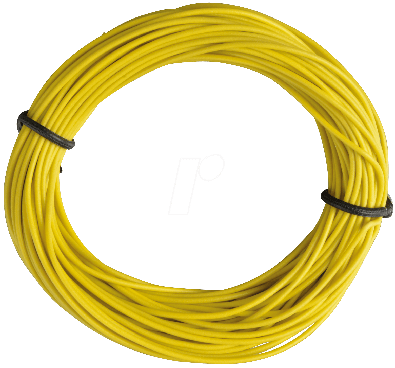 LITZE GE: Insulated braided copper wire, 10 m, 1 x 0.14 mm, yellow ...