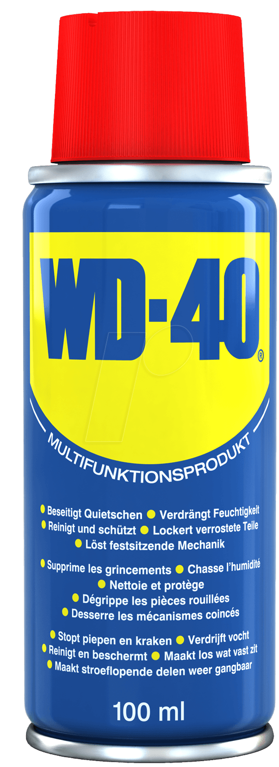wd 40 uni 100 produit universel wd 40 100 ml chez reichelt elektronik. Black Bedroom Furniture Sets. Home Design Ideas