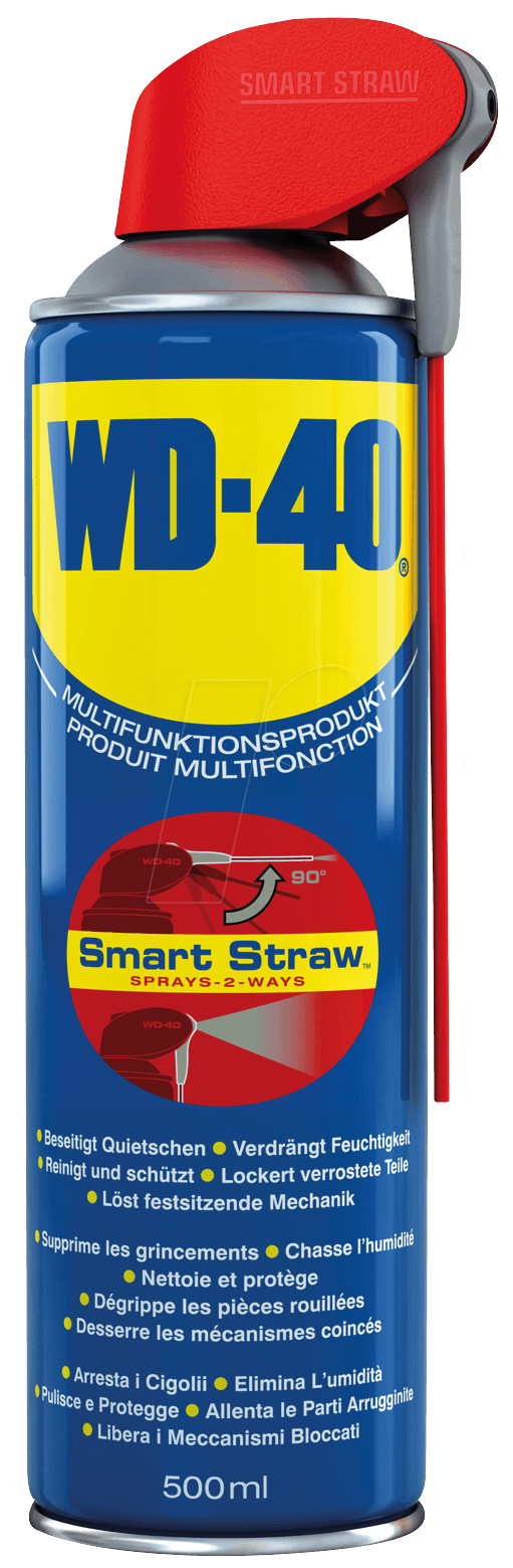 wd 40 smart 500 wd 40 smart straw 500 ml at reichelt elektronik. Black Bedroom Furniture Sets. Home Design Ideas