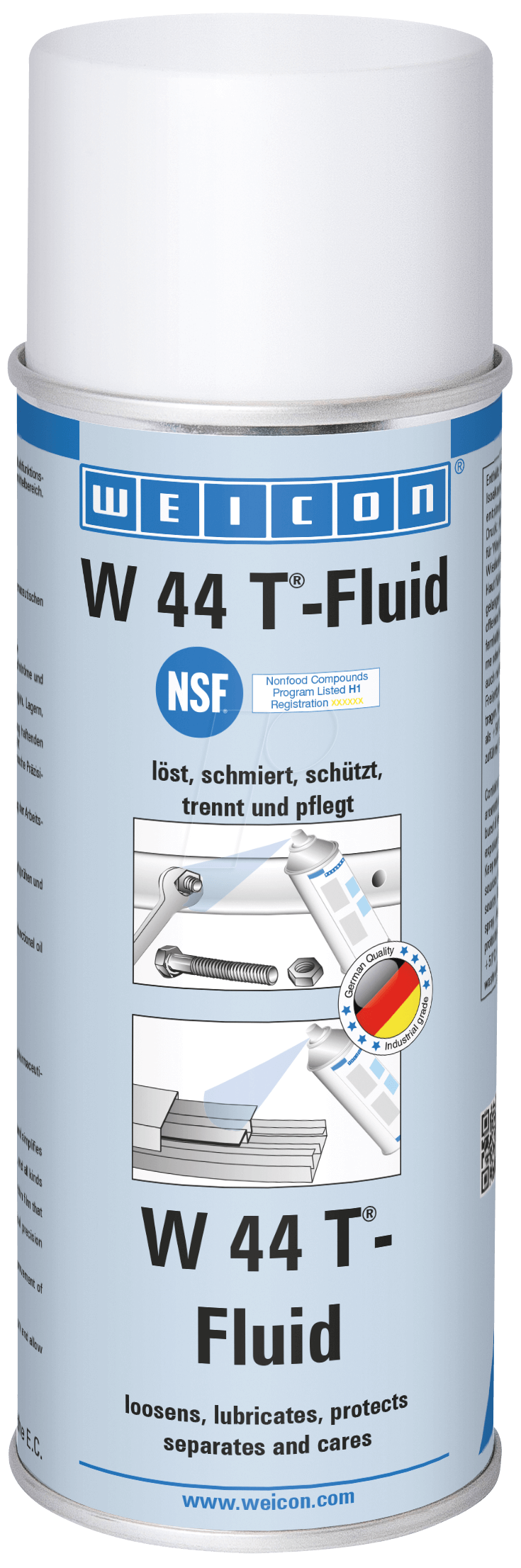 WEICON 11253400 - Universalöl, W 44 T Fluid, 40...