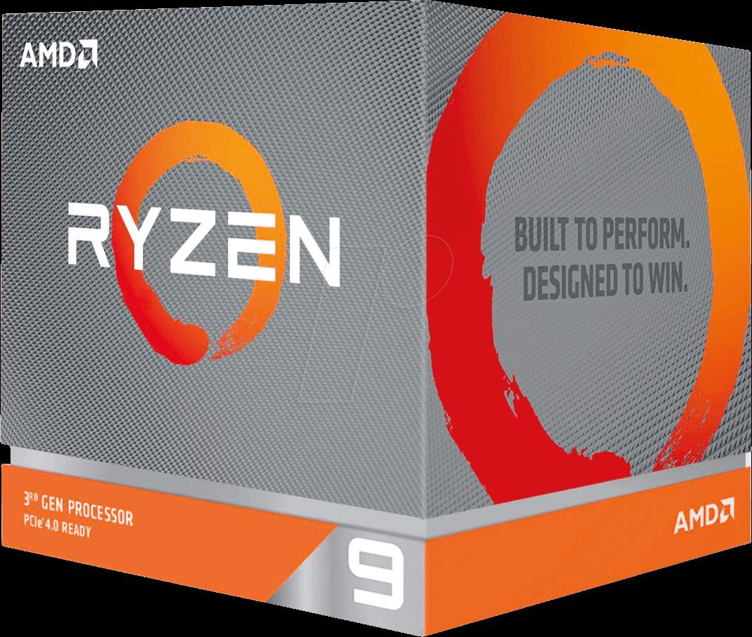 AMD R9-3900X AMD AM4 Ryzen 9 3900X, 12x 3.80GHz, boxed