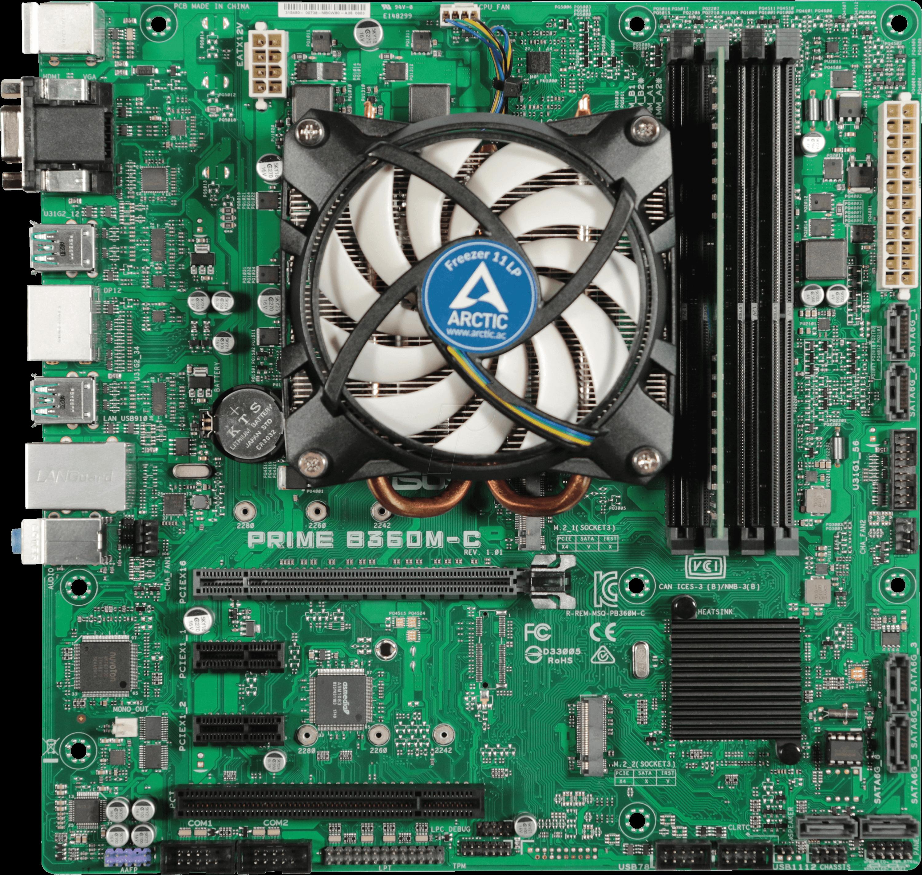 ARK 107406 - Tuning-Kit INTEL i5 9600K 6x 3,7GHz 8GB