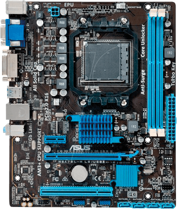 ASUSMBA 90MB0MY0 - ASUS M5A78L-M LE/USB3 (AM3+)