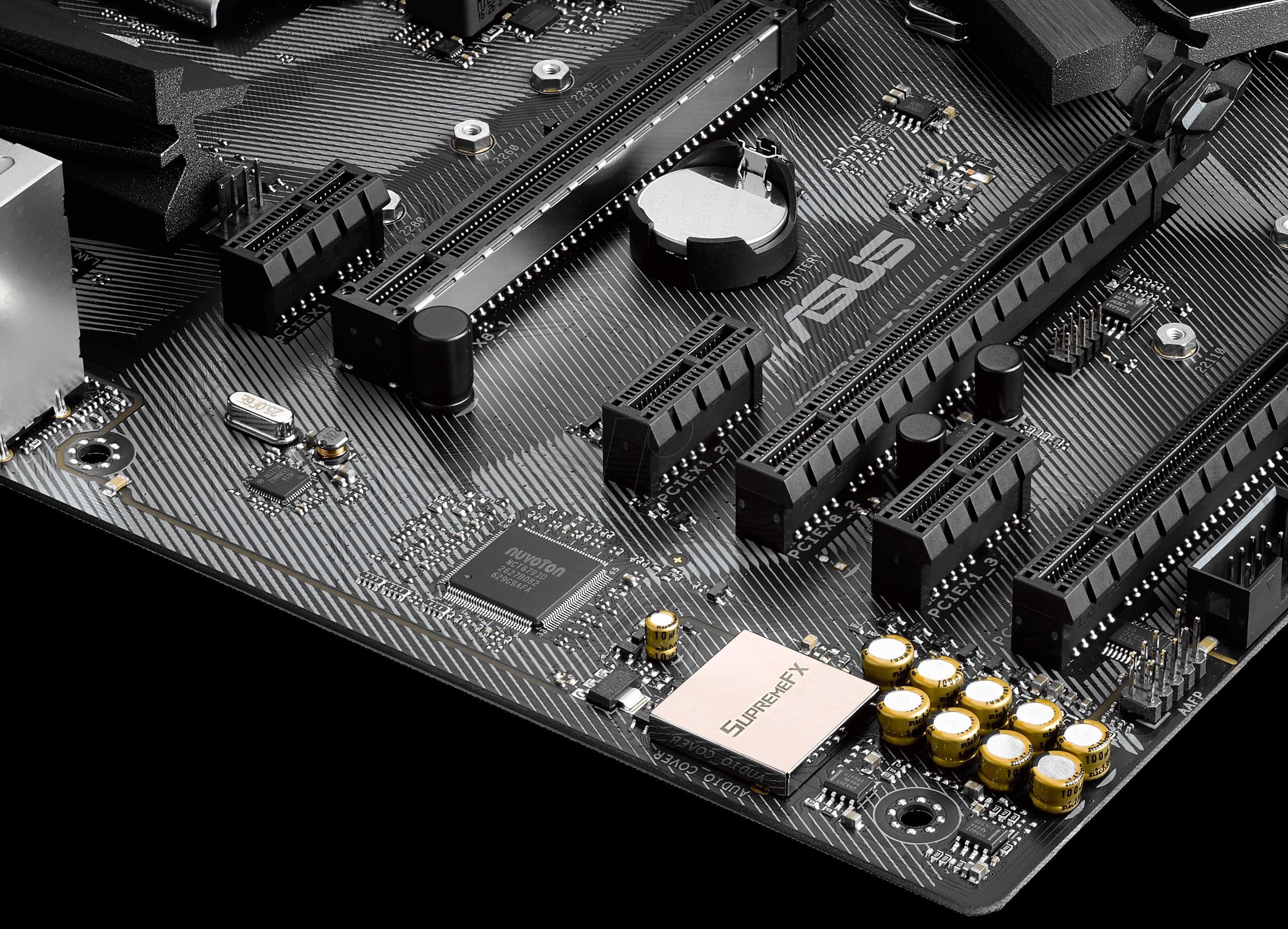 ASUSMB 90MB0SS0: ASUS ROG Strix Z270H Gaming (1151) at reichelt elektronik