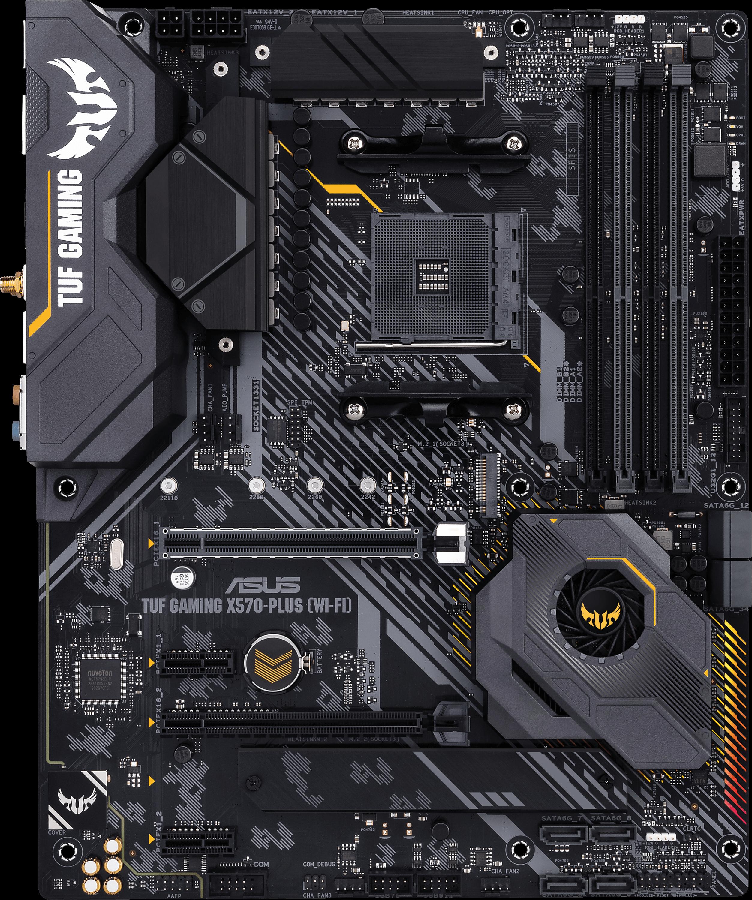 ASUS 90MB1170 - ASUS TUF Gaming X570-Plus (WI-FI) (AM4)