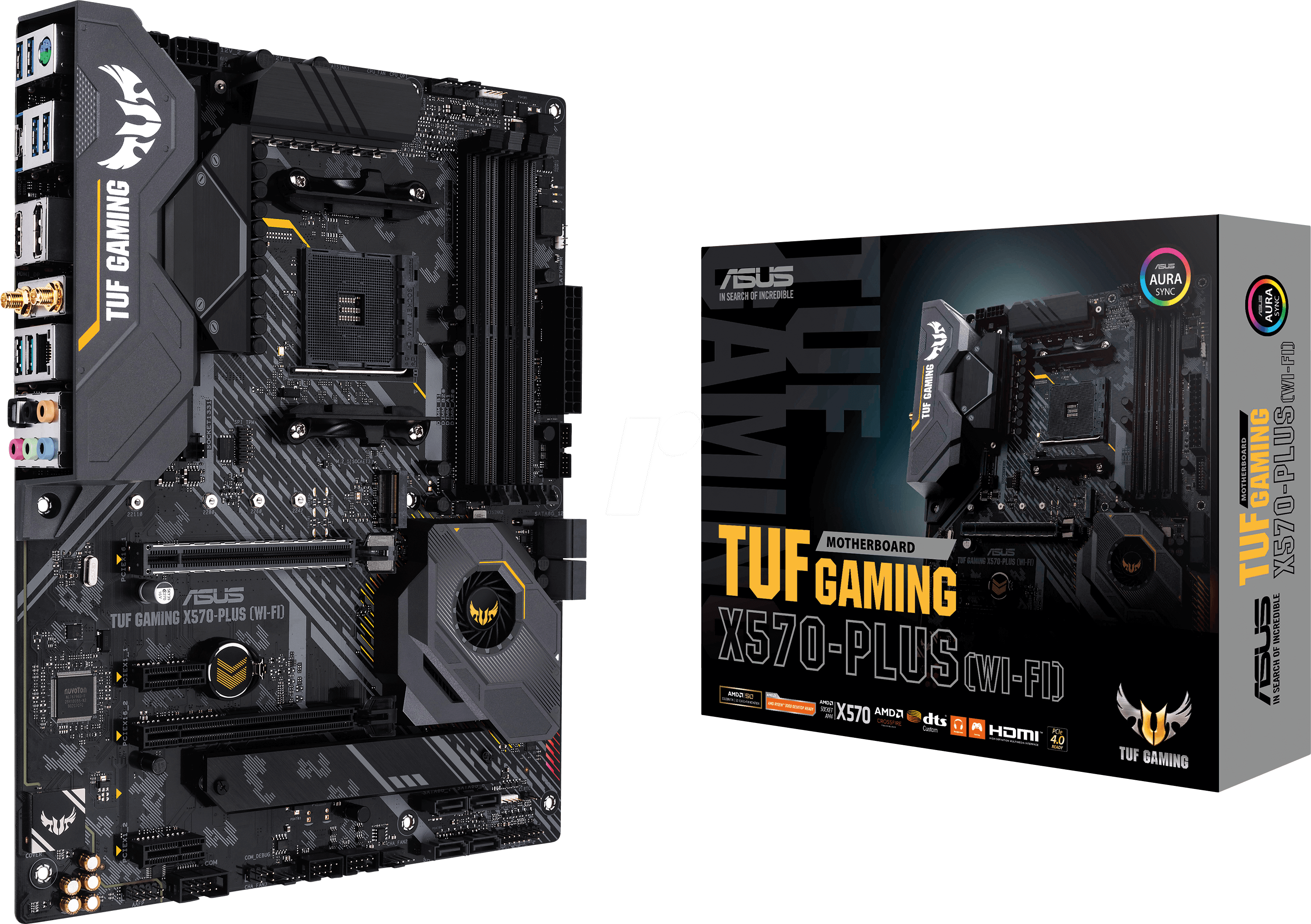 ASUS 90MB1170 - ASUS TUF Gaming X570-Plus (WI-FI) (AM4)