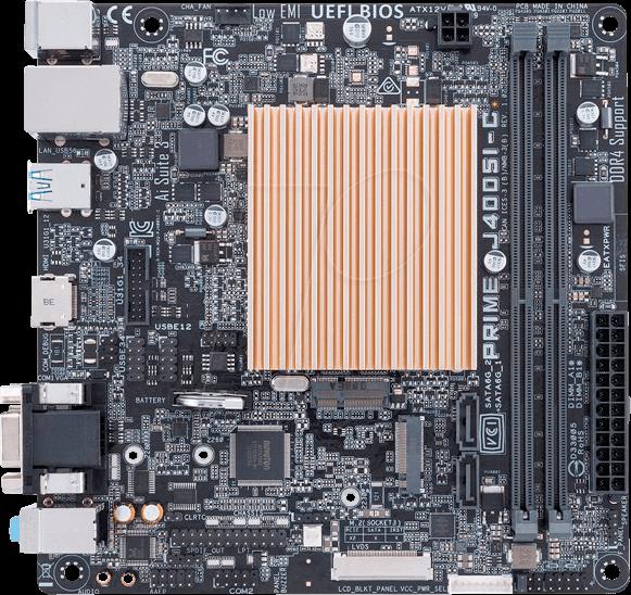 ASUS J4005I-C - Mini-ITX motherboard with Intel Celeron J4005