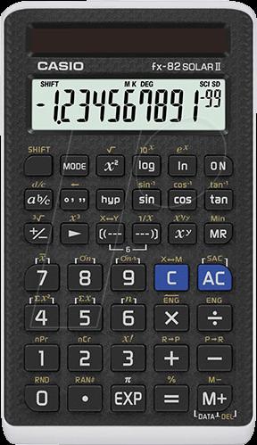 CASIO FX82SOLAR - Standard calculator