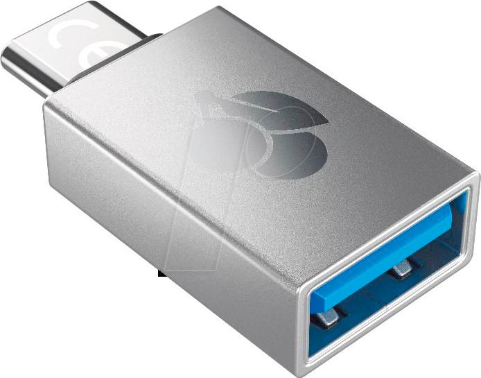 CHERRY 61710036 USB 3.0 Adapter, C Stecker auf A Buchse
