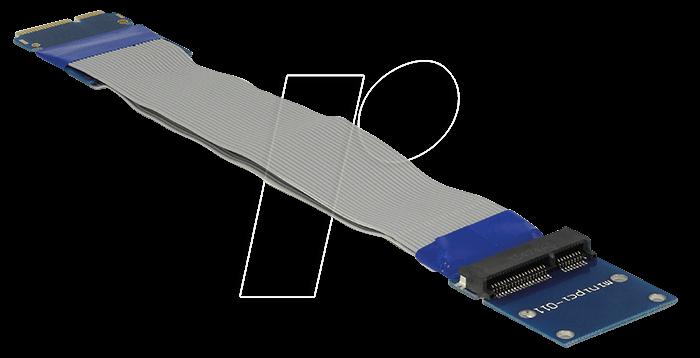65837 - Verlängerung Mini PCI Express / mSATA Stecker