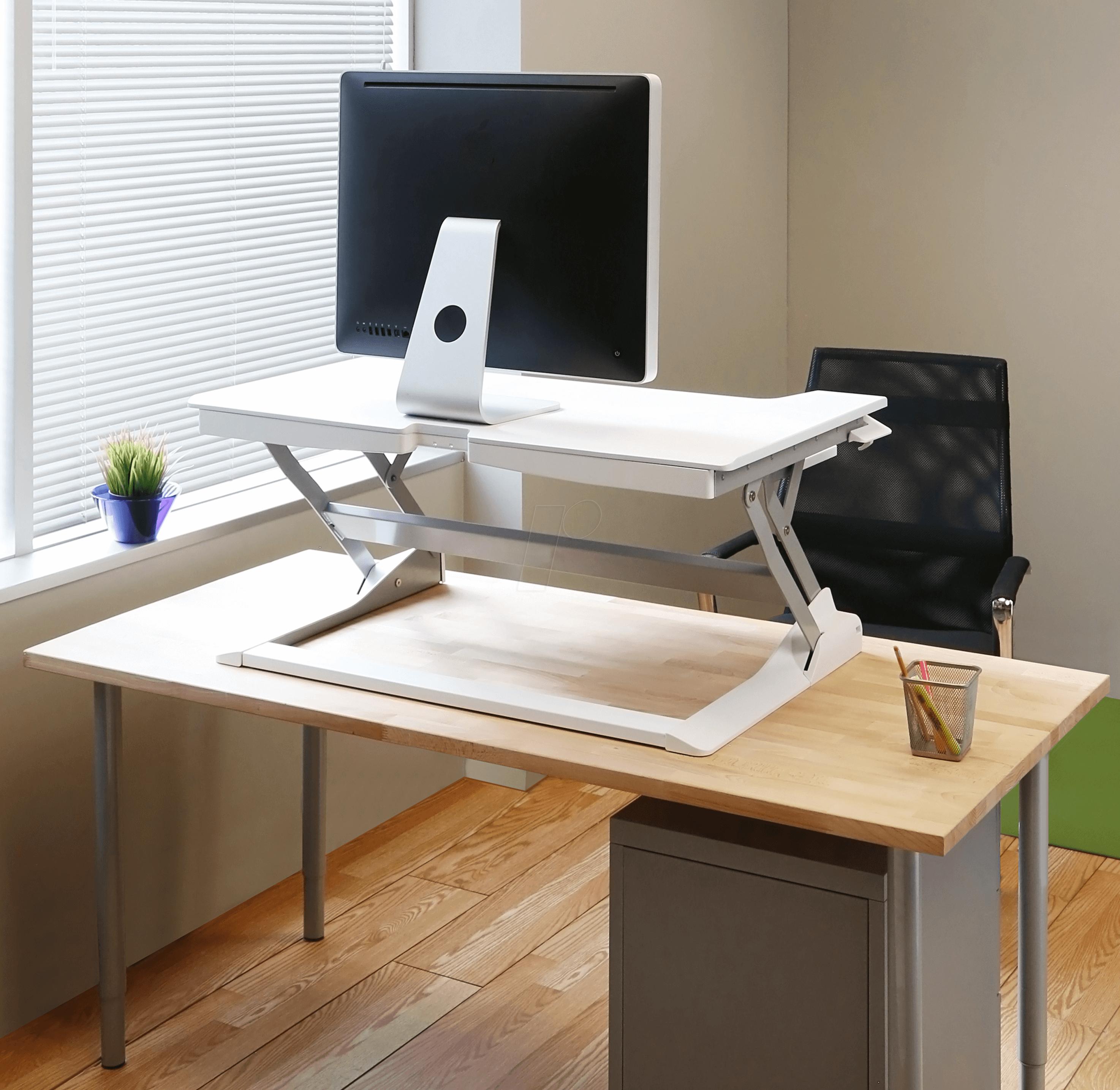 et 33 406 062 workfit tl sitz steh schreibtisch arbeitsplatz bei reichelt elektronik. Black Bedroom Furniture Sets. Home Design Ideas
