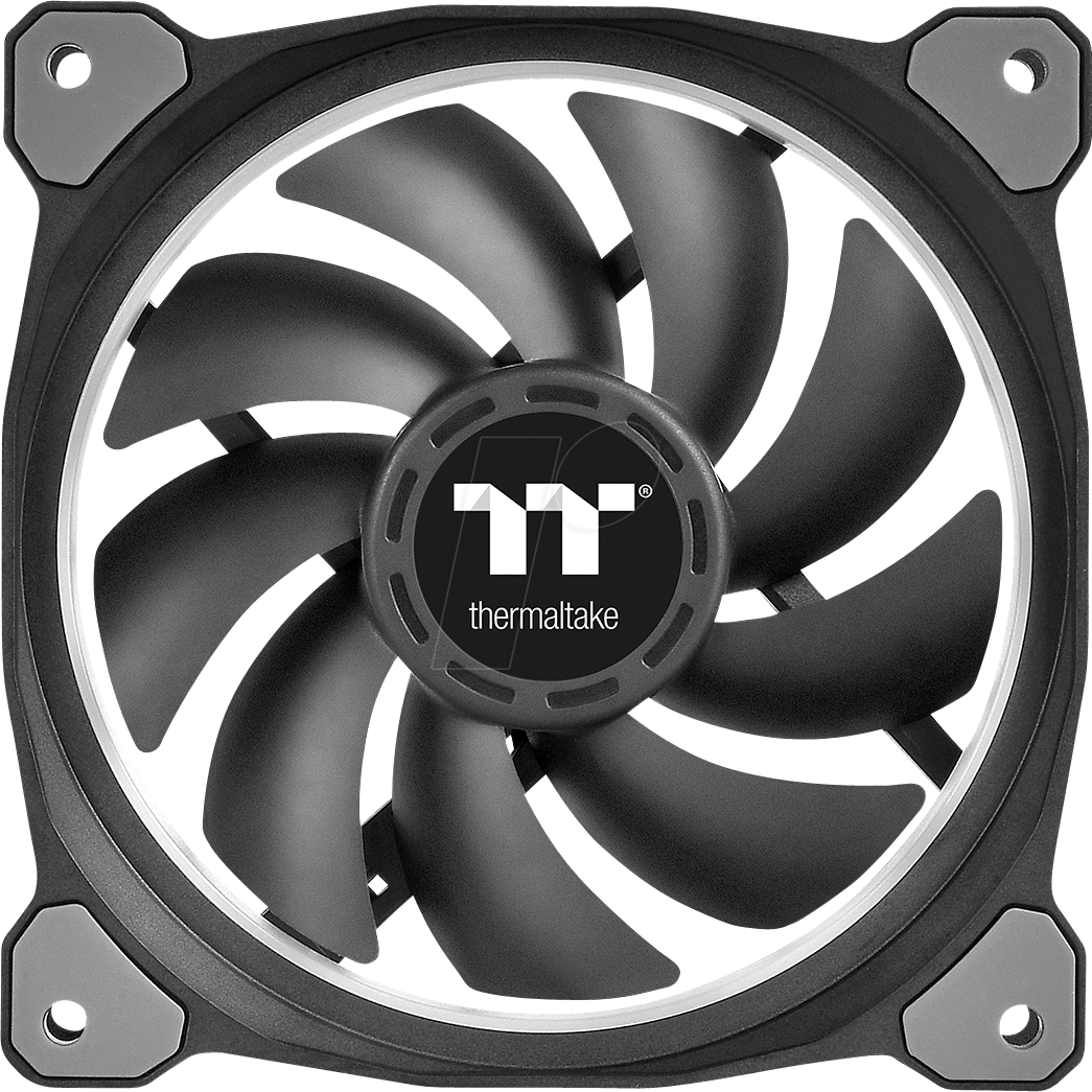 TT 07856 - Thermaltake Riing Plus 12 RGB fan x3 with controller