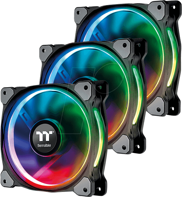TT 07870 - Thermaltake Riing Plus 14 RGB fan x3 with controller