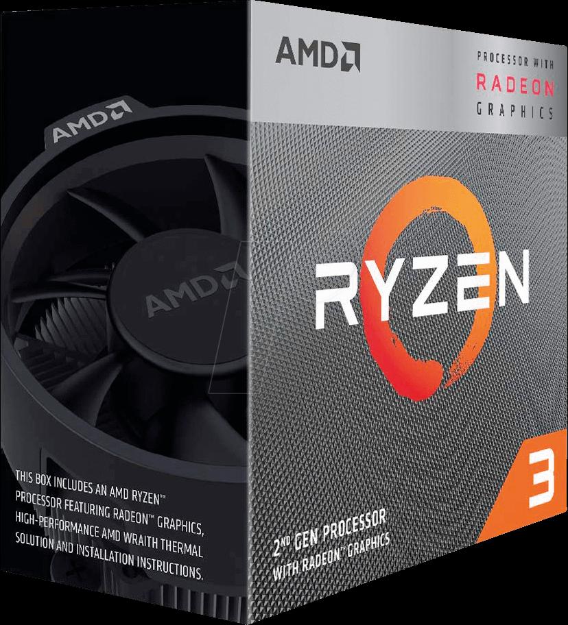 YD3200C5FHBOX AMD AM4 Ryzen 3 3200G, 4x 3.60GHz, boxed