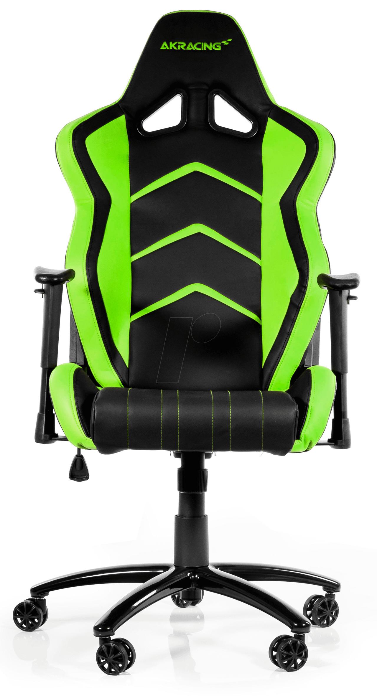 AK K6014 BG Gaming Stuhl AKRACING Player schwarz grün