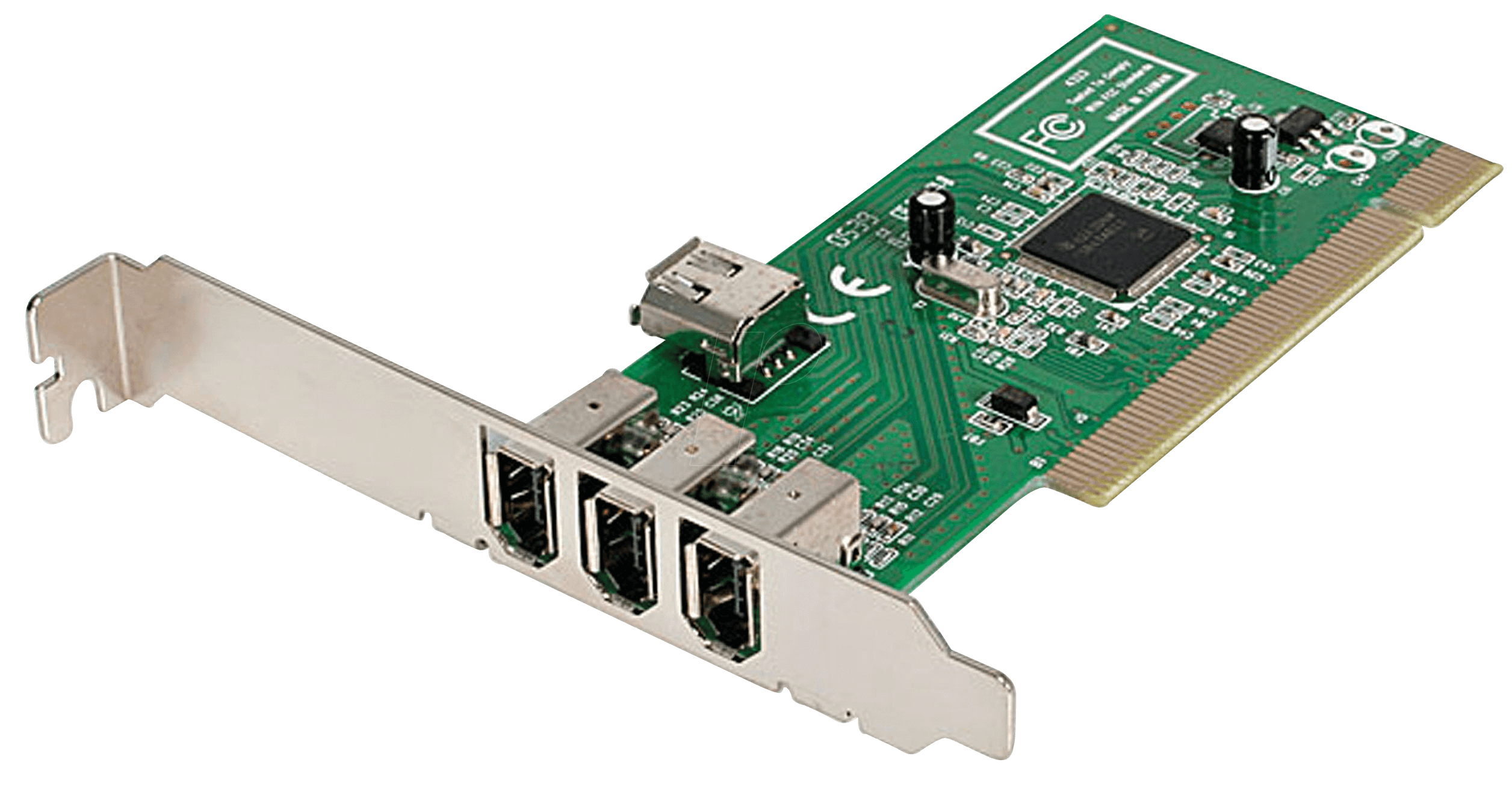pci karte ST PCI1394MP: PCI Karte 4 Port 1394a Firewire bei reichelt elektronik