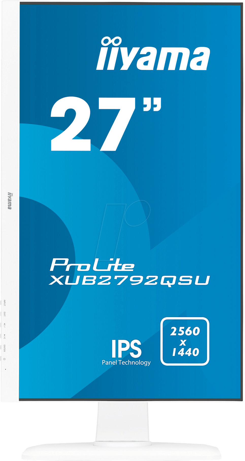 Iiyama IIY XUB2792QSUW1 69cm Monitor, Lautsprecher, Pivot
