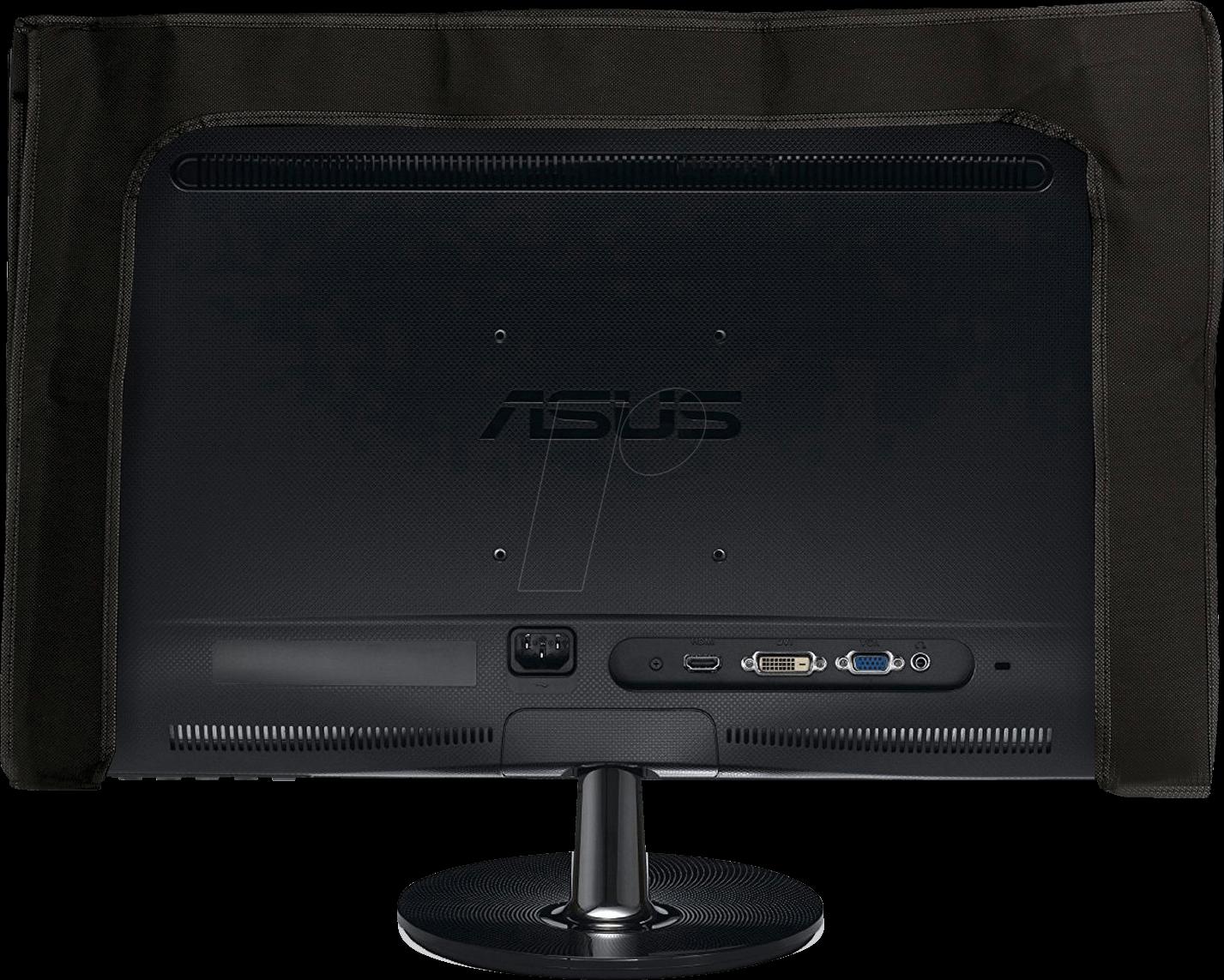 Kw 4361801 Bildschirm Schutzhülle 24 26 Monitor Schwarz Weiß