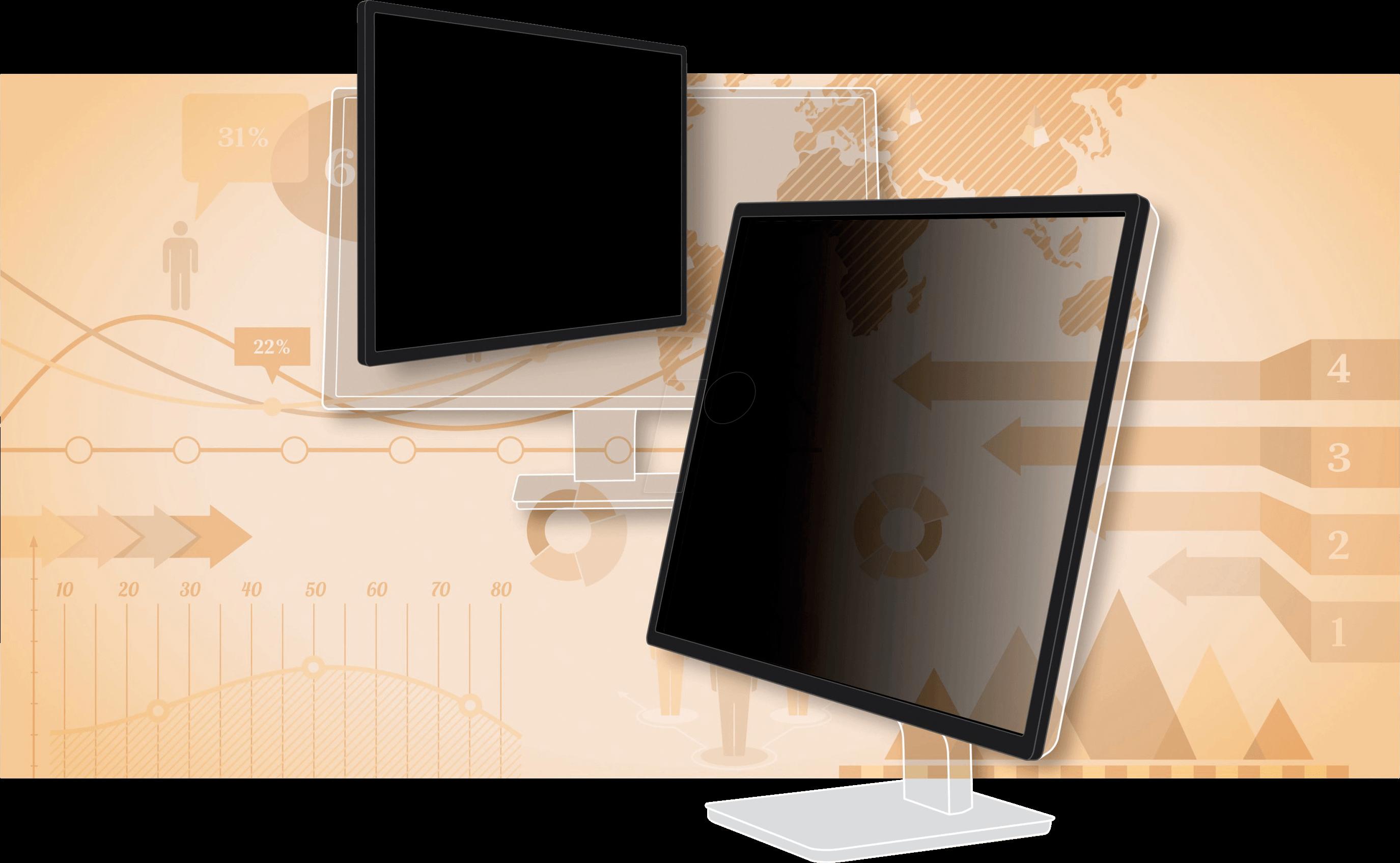 3M PF240W9F - Blickschutzfilter, 24´´ Monitor, ...