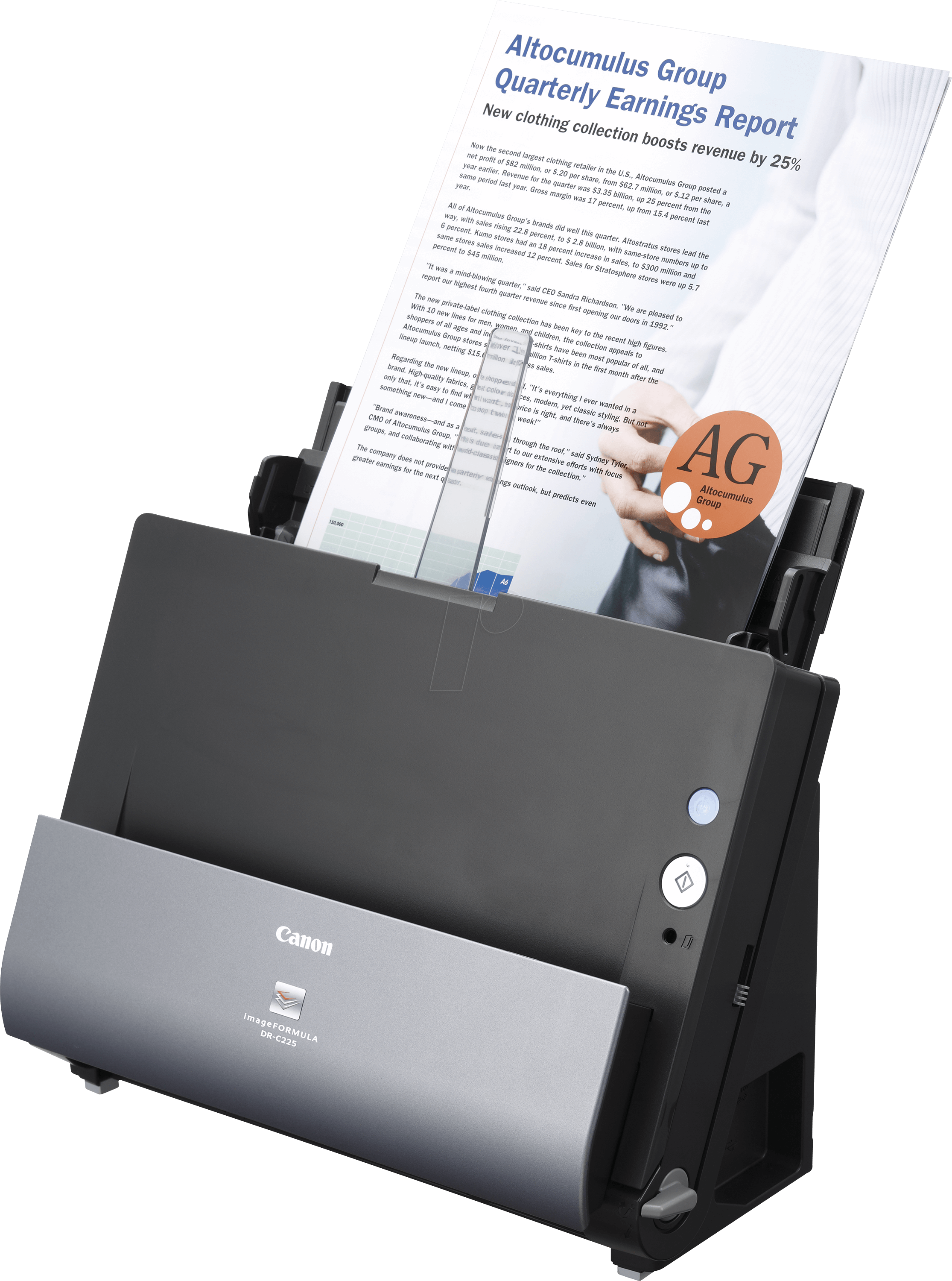 CANON DR-C225WII - High Speed Document Scanner