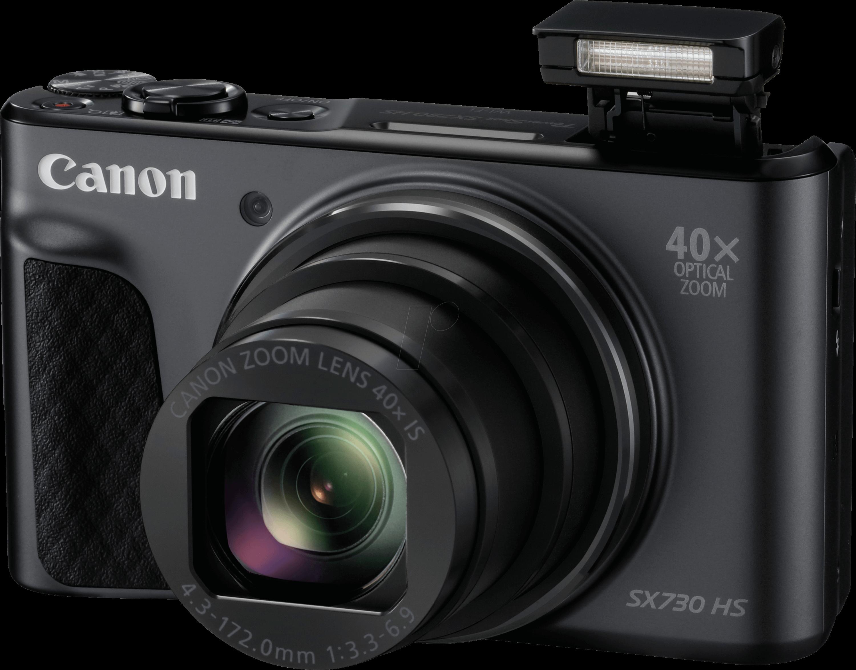 Digital Camera 20 MP 40x Zoom Black CANON 1791C002