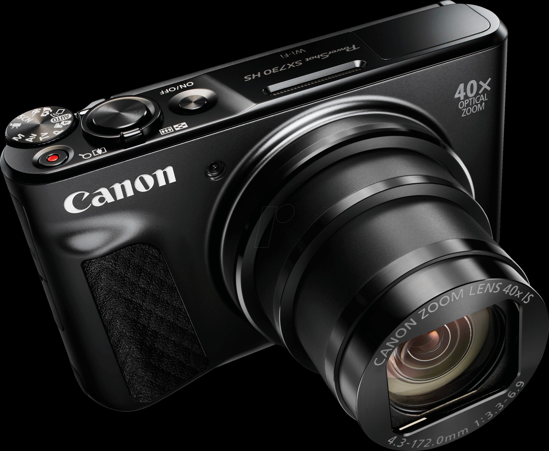 CANON SX730HS SW - Digital camera, 20 MP, 40x zoom, black