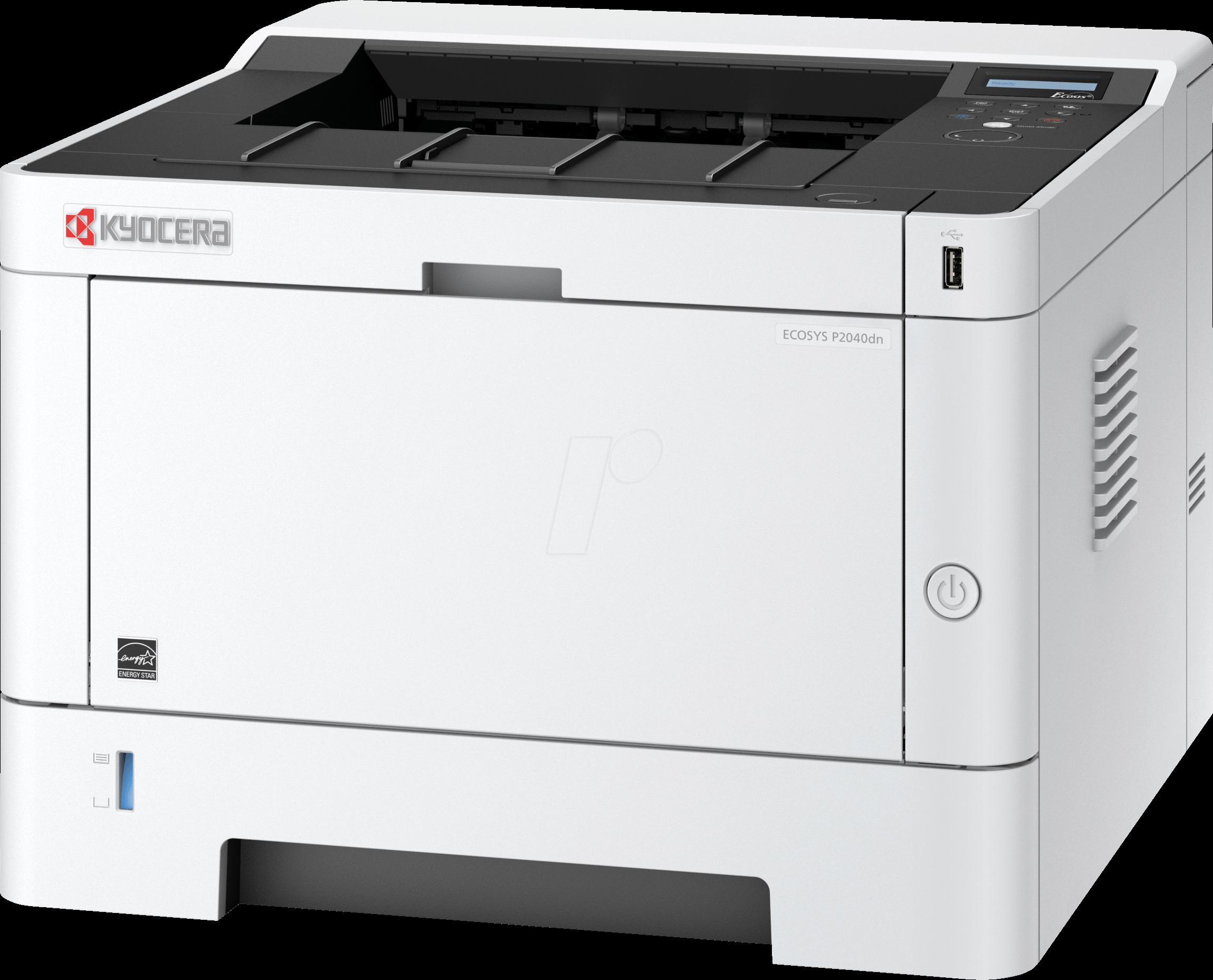 Kyocera ECOSYS P2040DN Drucker, Laser, monochrom, 40 S min, LAN, Duplex, inkl. UHGServi