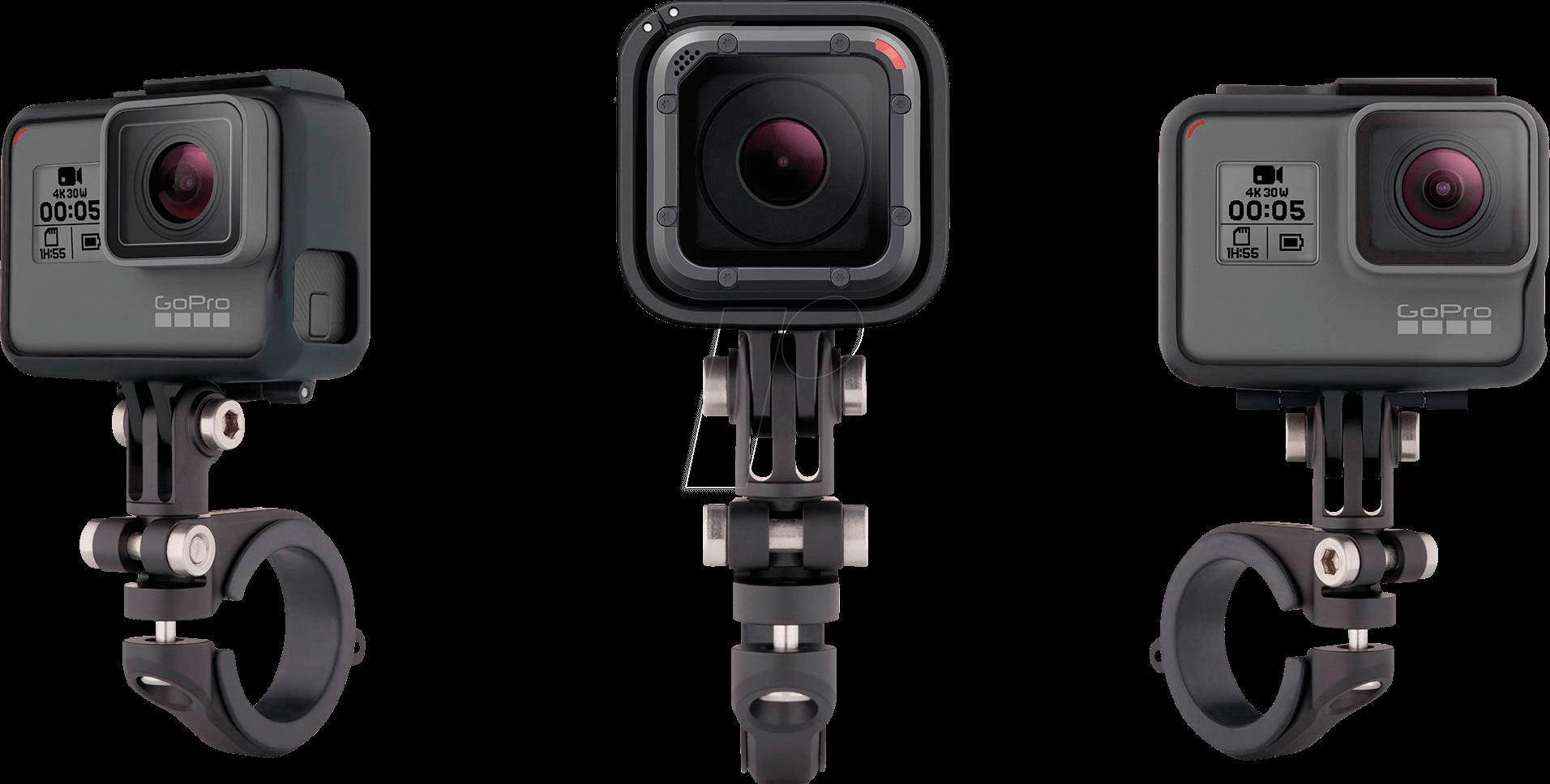 GOPRO AMHSM-001 - GoPro, Pro Lenker-/ Sitzrohr-/ Stangenhalterung