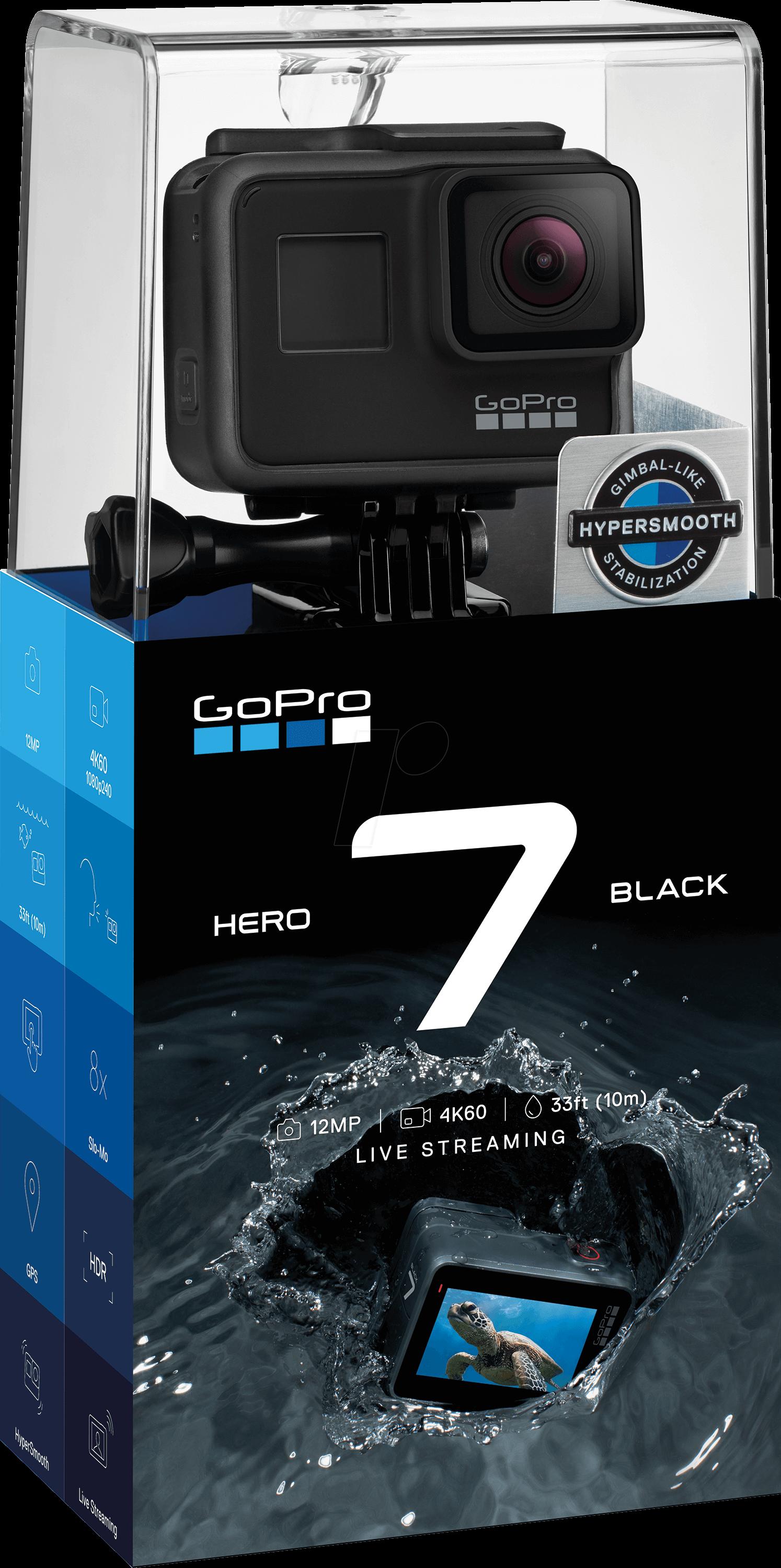 GOPRO HERO7 SW - Action Cam, GoPro Hero7 Black