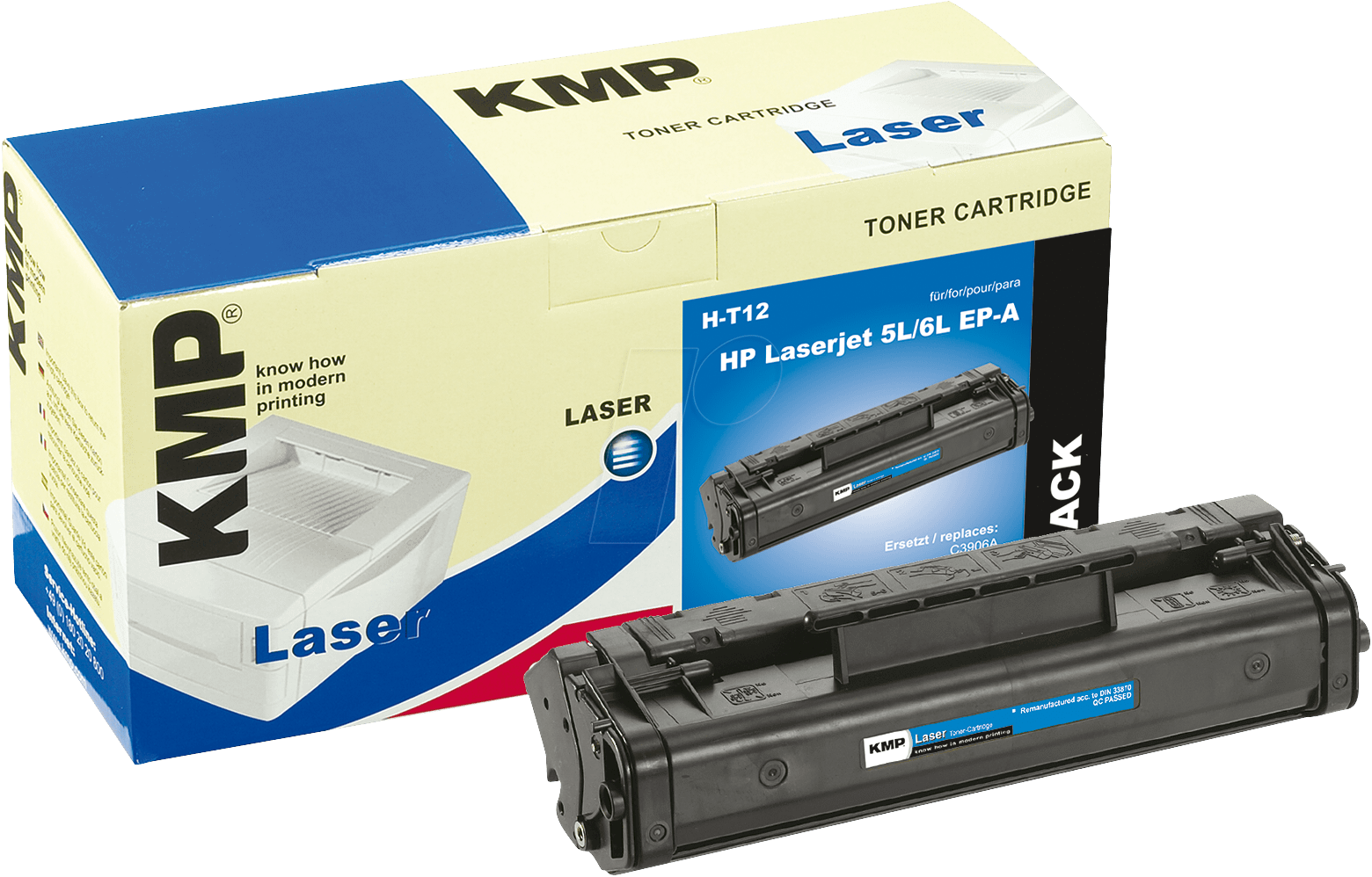 kmp 0867 0000 toner for hp 5l 6l 3100 epa at reichelt elektronik. Black Bedroom Furniture Sets. Home Design Ideas