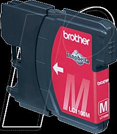 TINTE LC1100M - Tinte - Brother - magenta - LC1100 - original