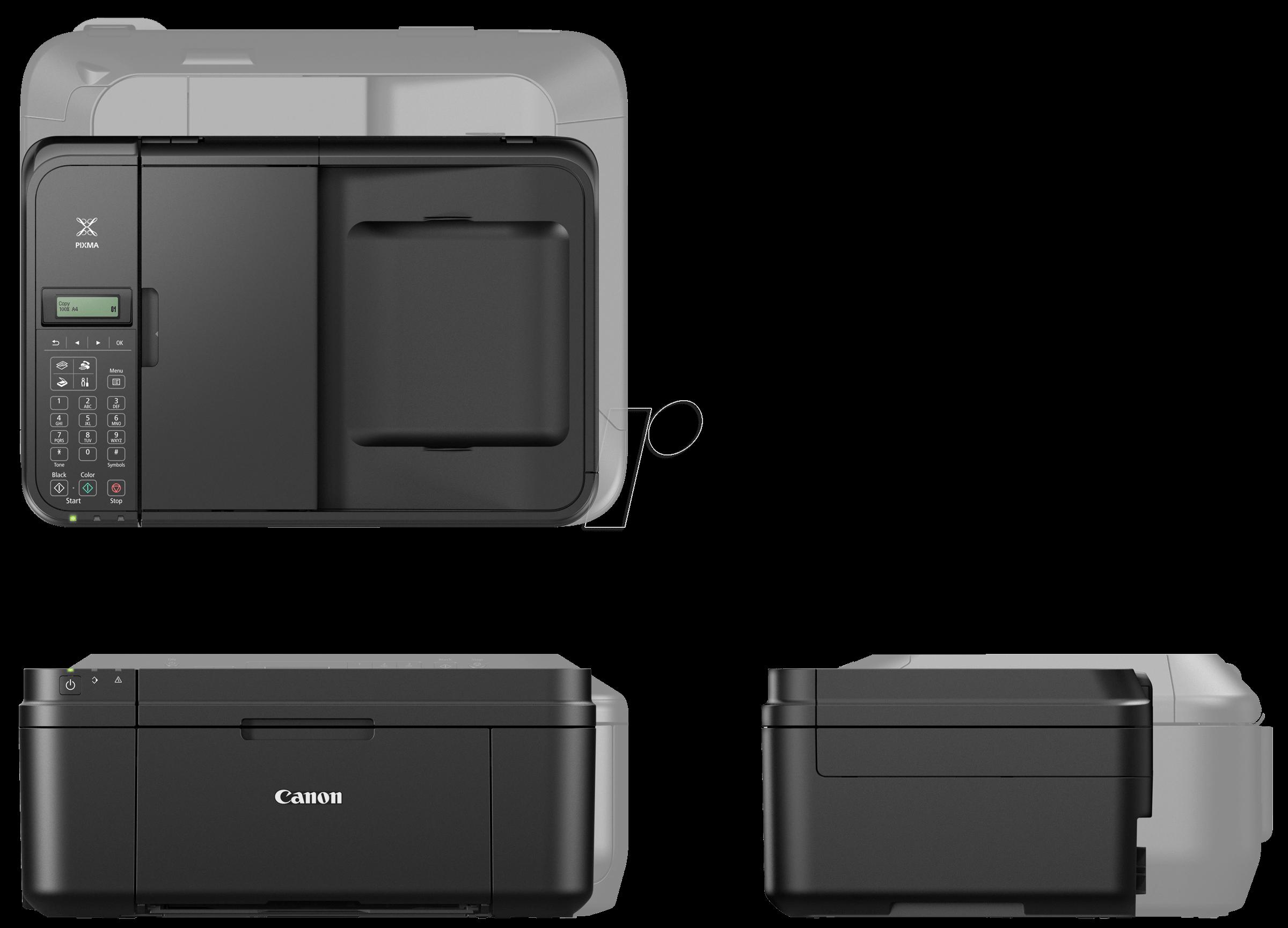 canon mx495 sw 4in1 multifunktionsdrucker mit wlan bei. Black Bedroom Furniture Sets. Home Design Ideas