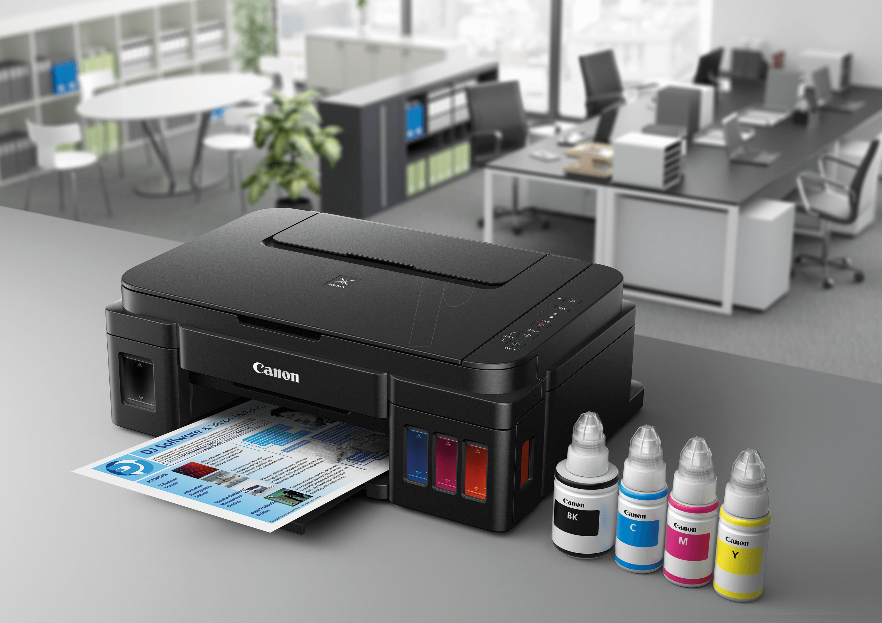 PIXMA G3501 - Printer, ink, 3-in-1, Wi-Fi, inc  copyright levy