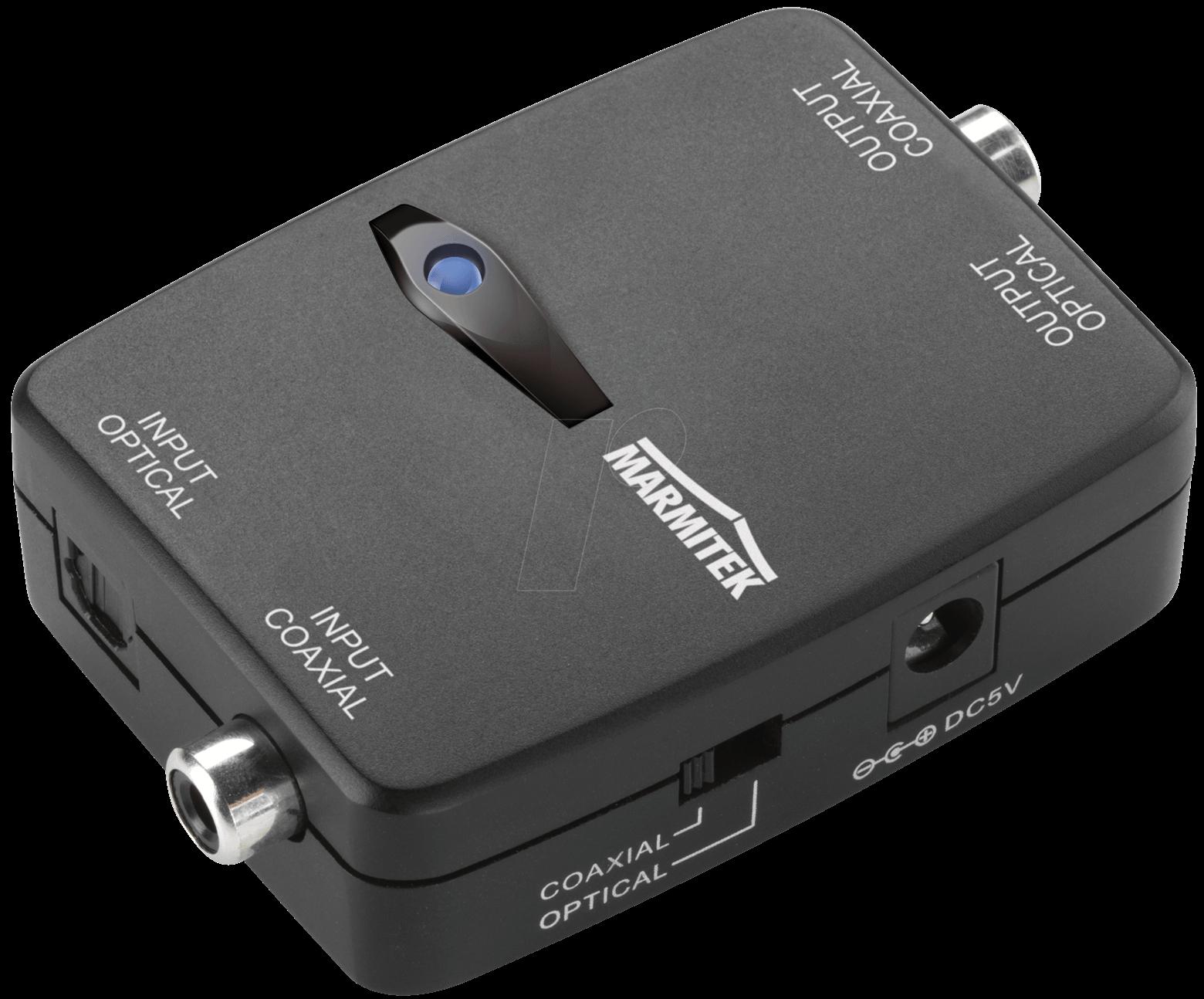 MT CONNECT TC22 - Digital Audio Converter Toslink zu Koaxial