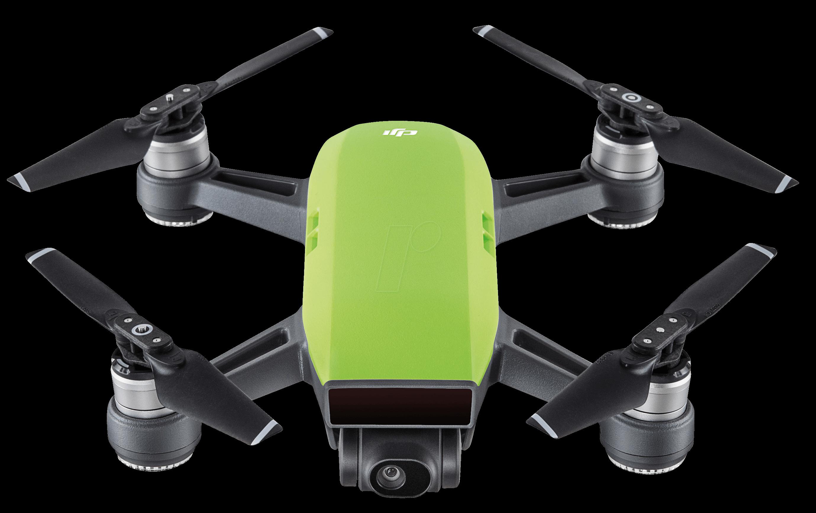 DJI 000744 - Quadrocopter, SPARK, grün