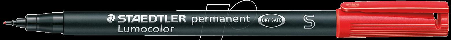 STAEDTLER 313RT - Permanent-Universalstift S, 0,4 mm, rot