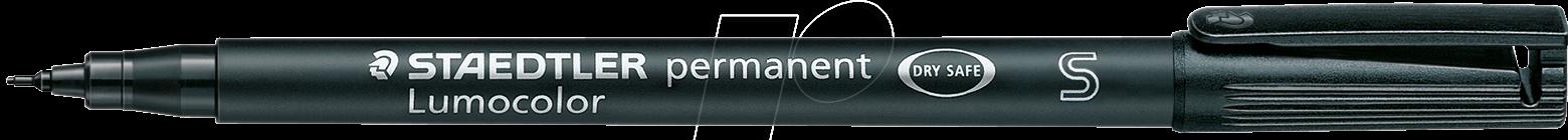 STAEDTLER 313SW - Permanent-Universalstift S, 0,4 mm, schwarz