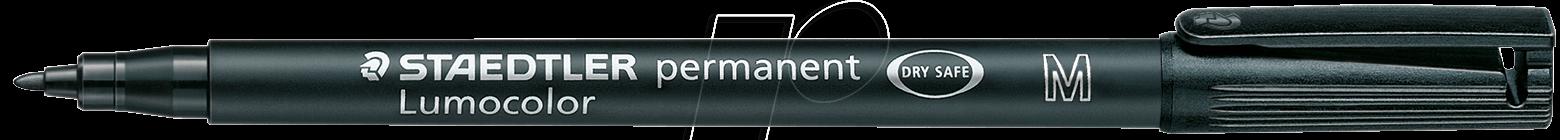STAEDTLER 317SW - Permanent-Universalstift M,1,0 mm, schwarz